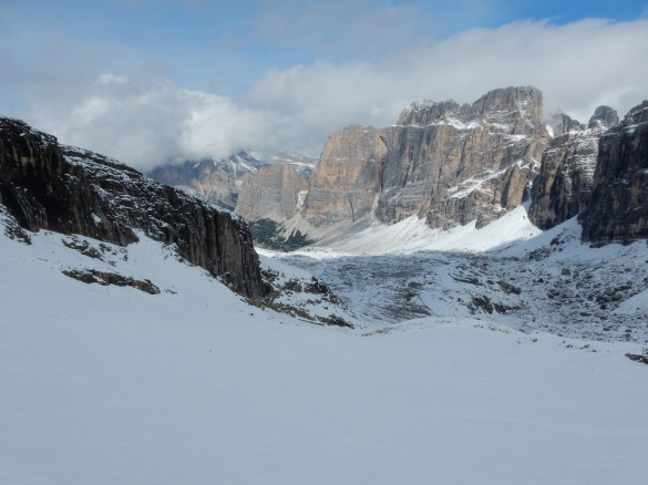 Hiking the Alta Via n.1 of the Dolomites - Part I