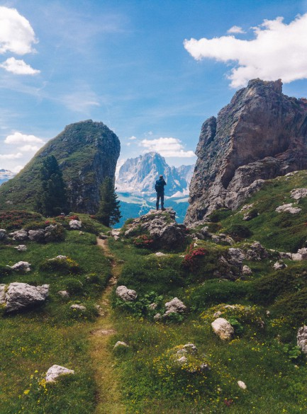 Hiking and Via Ferrata Adventure in the Dolomites