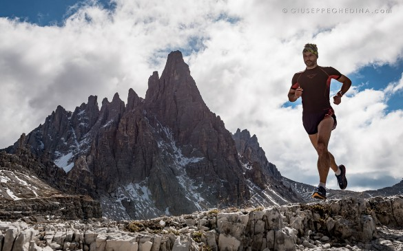 Trail Running the Alta Via N.2 of the Dolomites