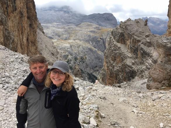 Mountain Chic Hike and Via Ferrata Escape, Sep 2015