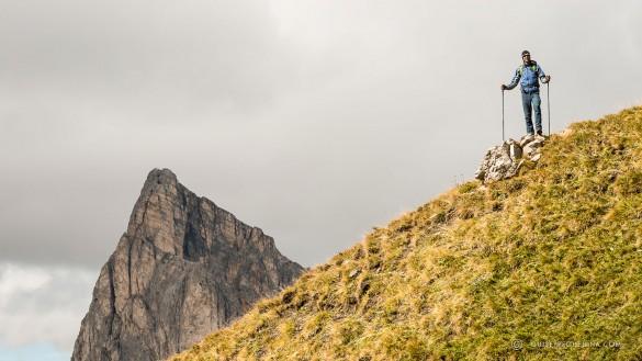 Hiking from Cortina d'Ampezzo to Alta Badia, June 2016
