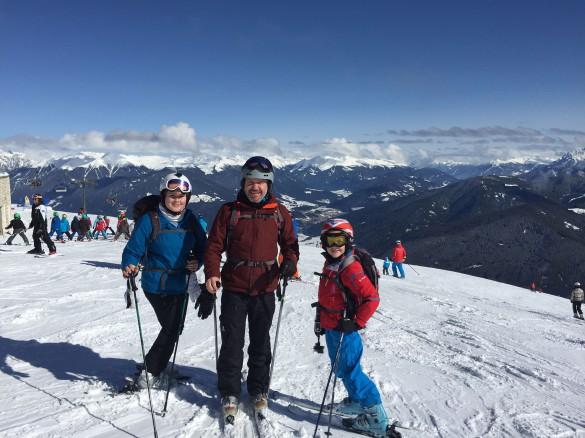 Family Ski Safari in the Dolomites, Feb 2016