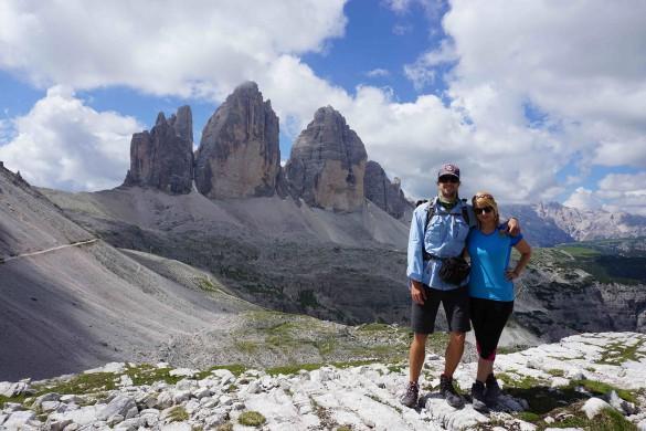 Hiking from Alta Badia to Cortina d'Ampezzo, July 2016