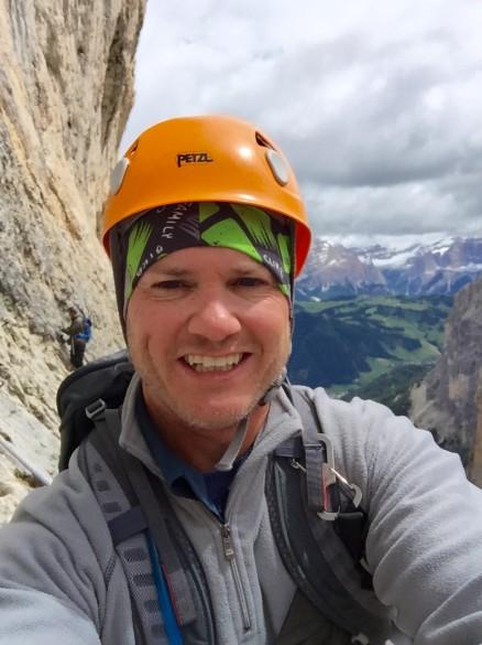 Hiking Alta Via N.1 - Part I and 1 day via ferrata Tridentina, July 2016