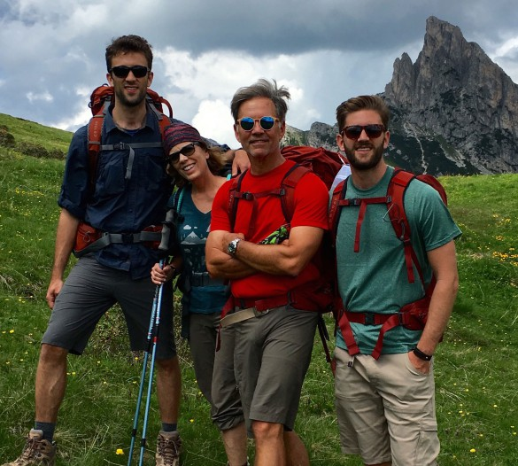 Hiking Alta Via N.1 - Part I, June 2016