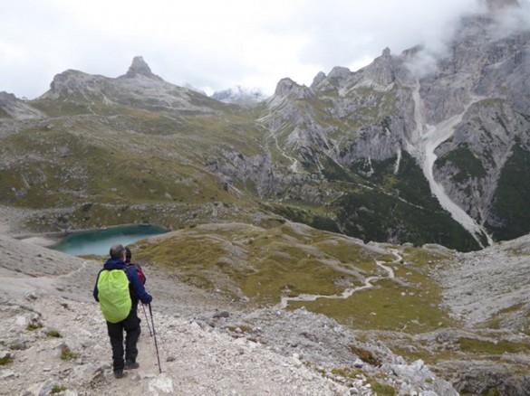 Hiking from Alta Badia to Cortina d'Ampezzo, Sep 2016