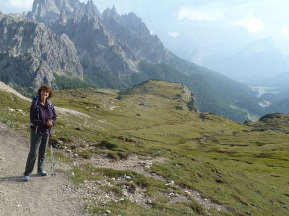 Hiking Traverse in the Dolomites