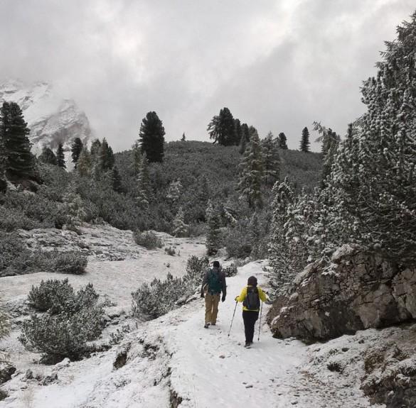Hiking from Alta Badia to Cortina, Sep 2016