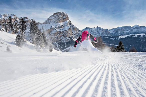 Departures - Skiing the Italian Dolomites
