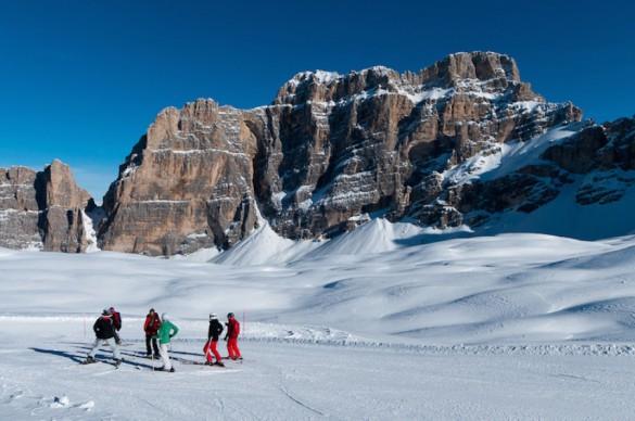 Contrasenas - Neve y alta cocina en las Dolomitas