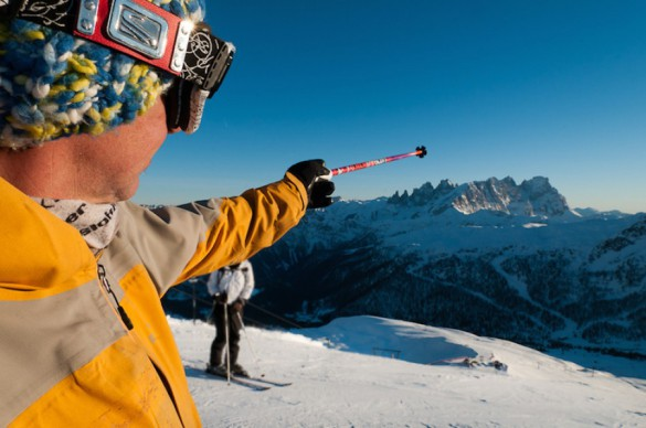 MEN'S JOURNAL - Skiing the Alps, Italian Style