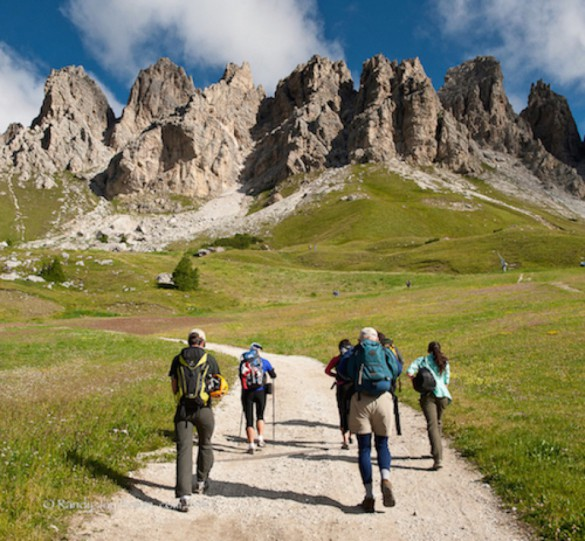 THE WASHINGTON POST: High on hiking in the Dolomites by Nathan Borchelet