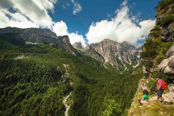 Hiking in the Dolomiti di Brenta