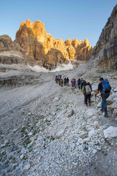 NEW for 2017! Dolomiti di Brenta Via Ferrata Traverse