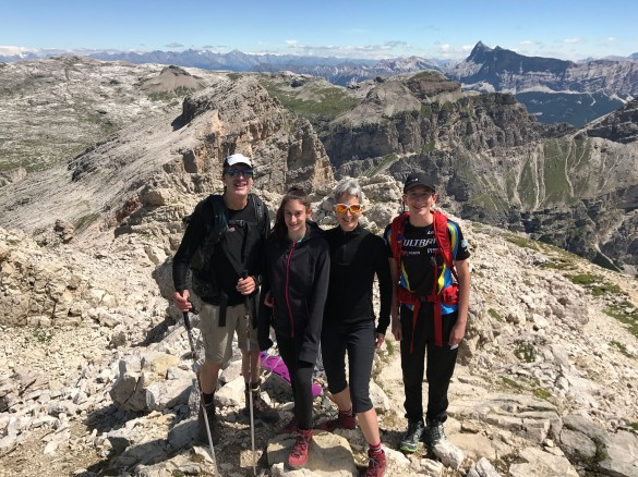 Family Hiking Traverse, July 2017