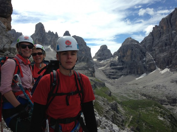 Hiking and Via ferrata Adventure through the Dolomiti del Brenta, July 2017