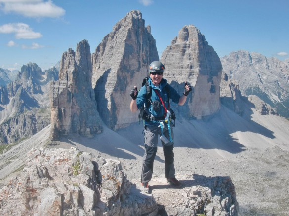 Hiking the Alta Via 4 of the Dolomites