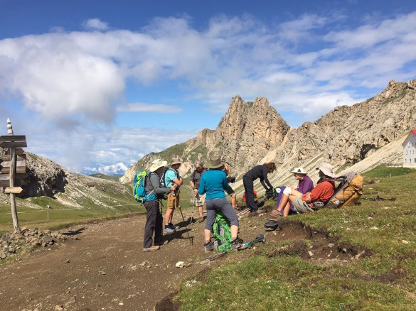 The Great Dolomites Ladin Valleys Traverse