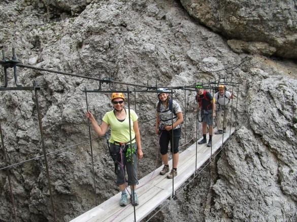 Hiking from Cortina d'Ampezzo to Alta Badia