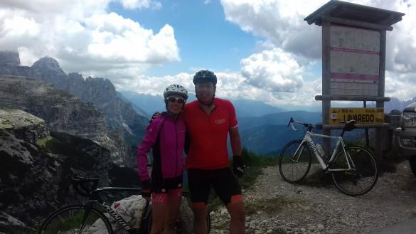 Road Biking in the Dolomites - 7 passes in 7 days