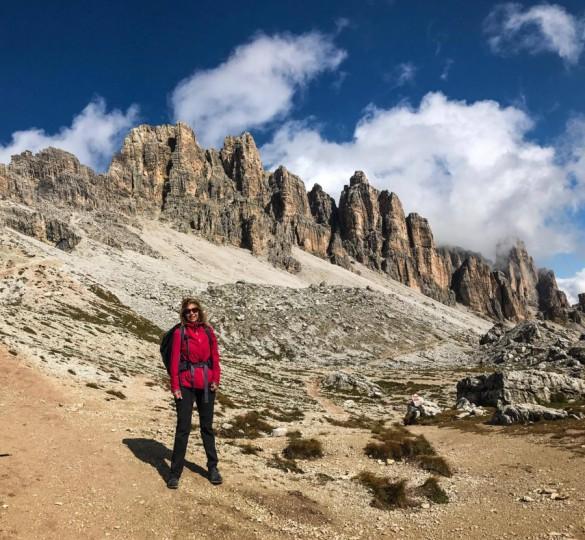 Hiking Alta Via N.1 of the Dolomites