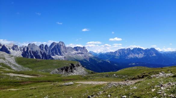 Hiking Around Alpe di Siusi & Rosengarten