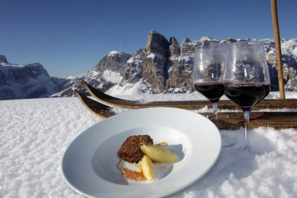 THE TELEGRAPH - Five of the best ski holidays for food lovers this winter
