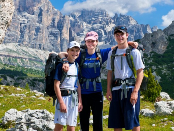 5 Great Hikes for Kids in the Dolomites