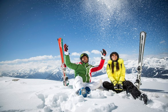 On-Piste Ski Safari Experience around Dolomiti del Brenta
