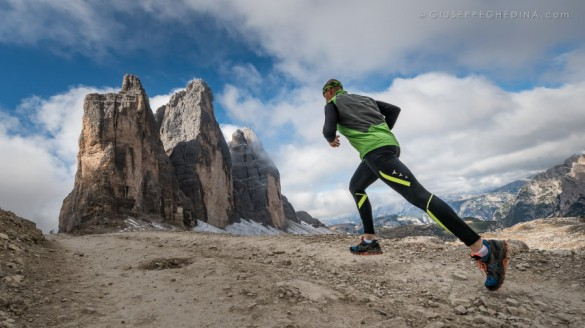 THE GUARDIAN - Trail running, Dolomites, Italy