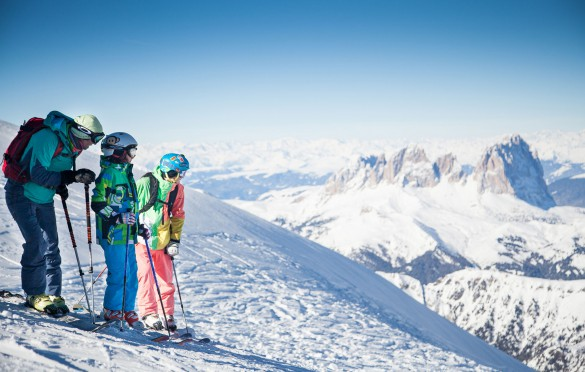 Family Ski Safari in the Dolomites