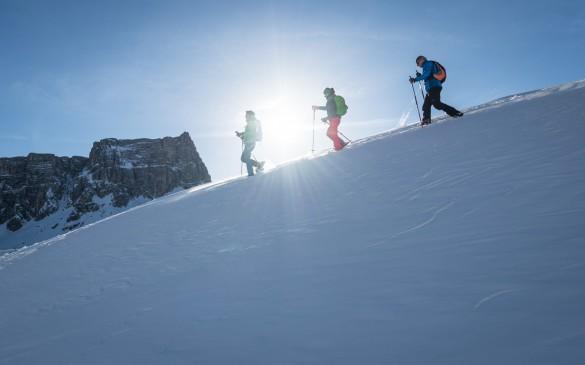 Dolomites Hut-to-Hut Snowshoeing Circuit Around Cortina d'Ampezzo