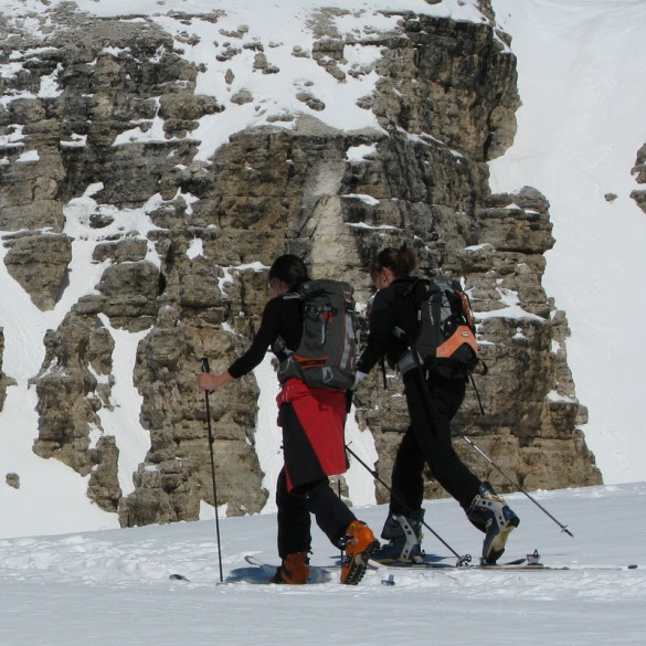 Spring Ski Touring in the Dolomites