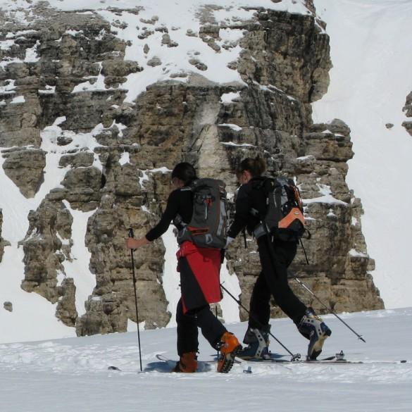 Spring Ski Touring in the Dolomites