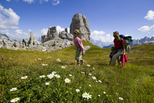 Family Hiking in the Dolomites
